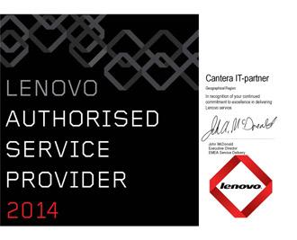 Lenovo Authorised Service Provider 2014